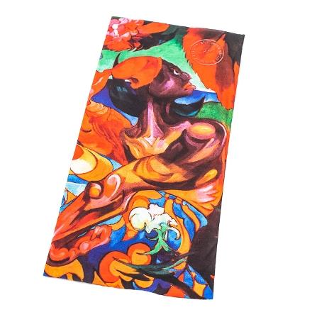 Buff z fragmentem obrazu Witkacego – wzór 2